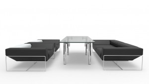 Modern Minimalist Furniture Set 1