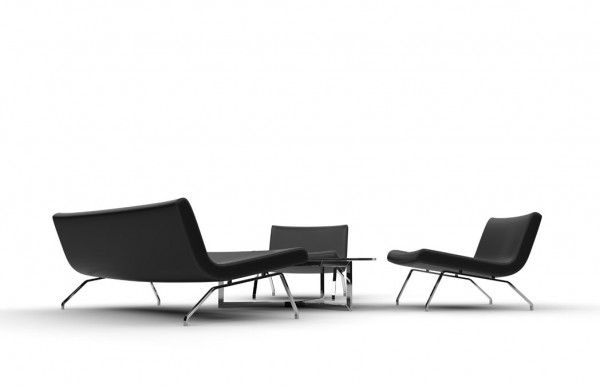 Black Armchairs